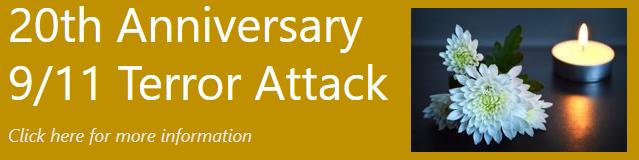 September 11th Terror Attacks 20th Anniversary