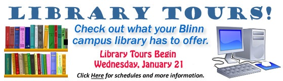 Library Tours, Spring 2015