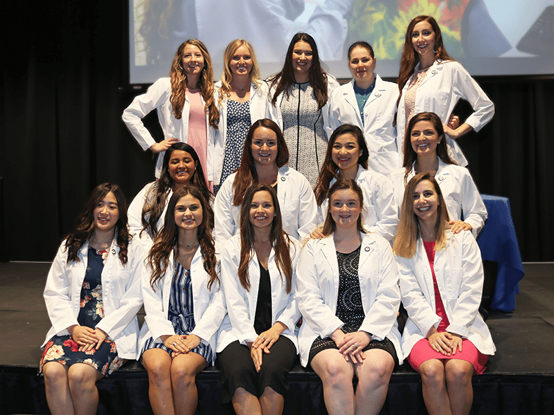 Blinn College District recognizes 14 dental hygiene graduates with pinning ceremony