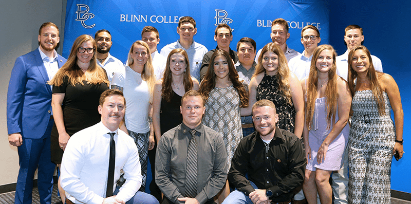 Blinn Paramedic Program recognizes 19 graduates with pinning ceremony